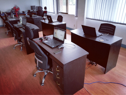 NEW FURNITURES SET UP AT AUXFIN NEPAL